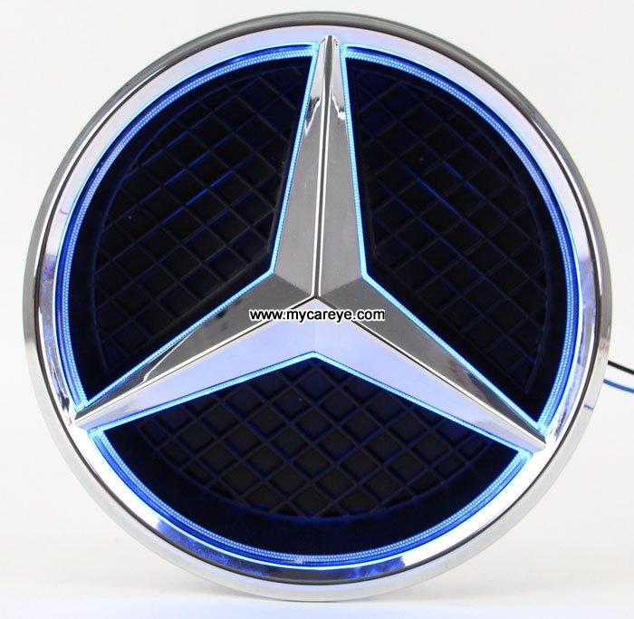 Mercedes benz glk260 glk300 glk250 glk350 front grille for Mercedes benz emblem light