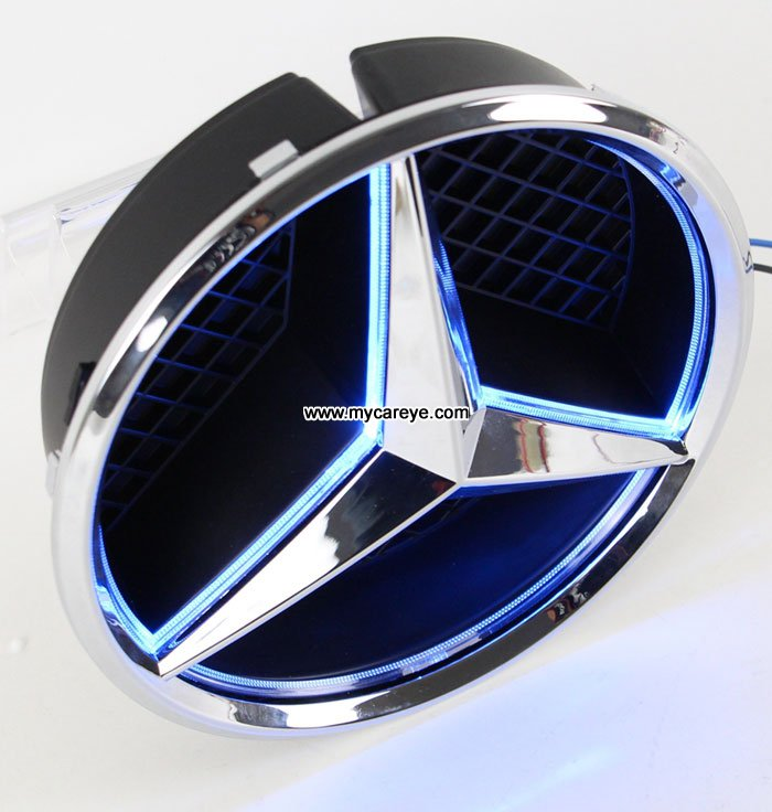 Mercedes benz glk260 glk300 glk250 glk350 front grille for Mercedes benz light up emblem